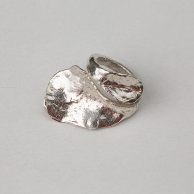 Anillo naturaleza en plata